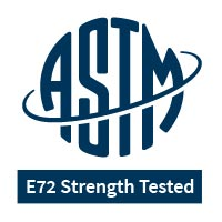E72 Strength Tested logo