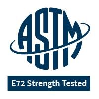 E72 Strength Tested logo