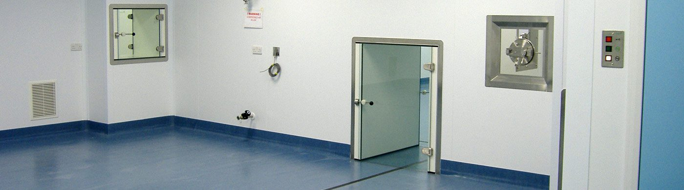 Newly installed cleanroom