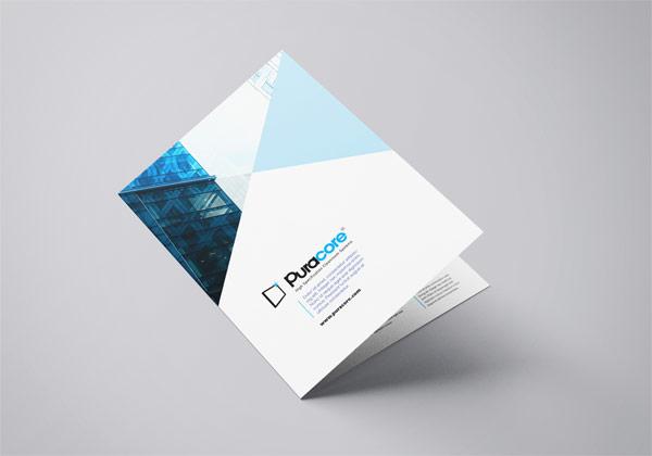 Puracore brochure mockup