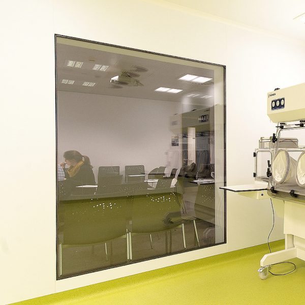 Flush Framed Vision Panel