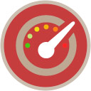Rating dial icon