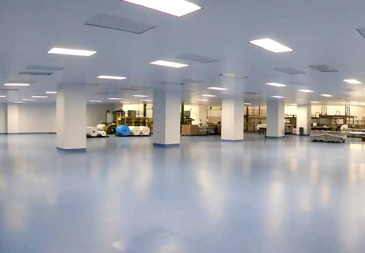 Specialist Packaging Production Clean room