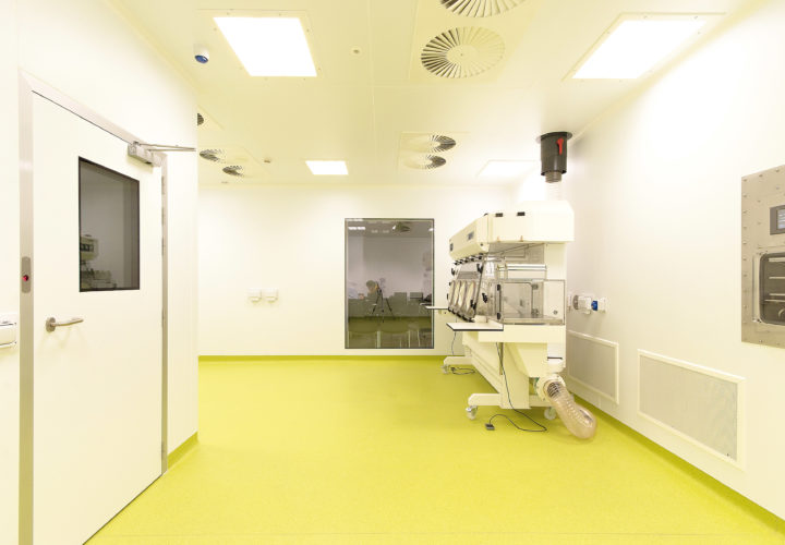 Puracore Clean room System at UCC, Ireland