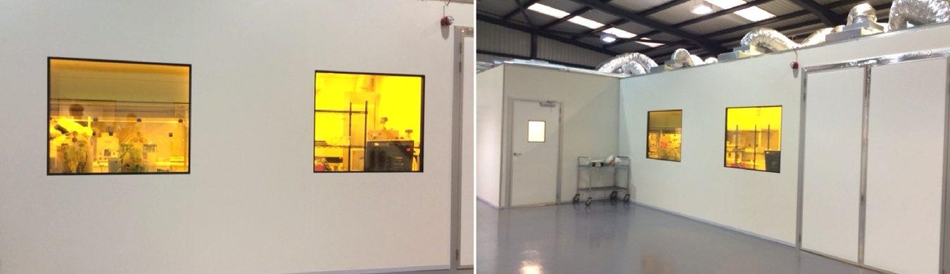 Modular Clean Room For Folium Optics