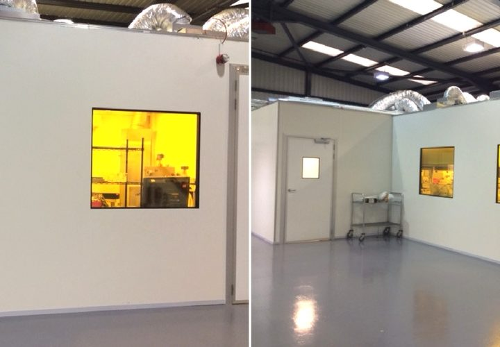 Modular Clean Room For Folium Optics