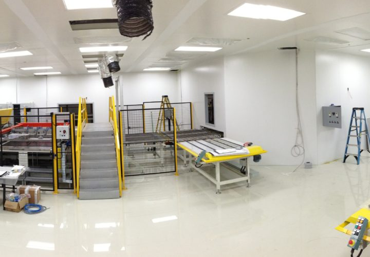 ISO 7 Clean Room for Pittsburgh Glass Works