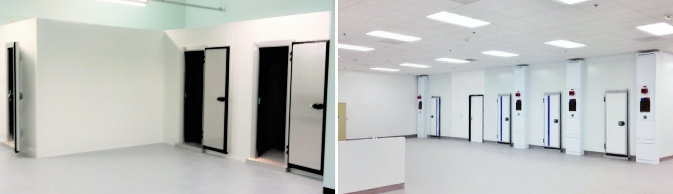 Clean Room Panels for Stability Storage Chambers