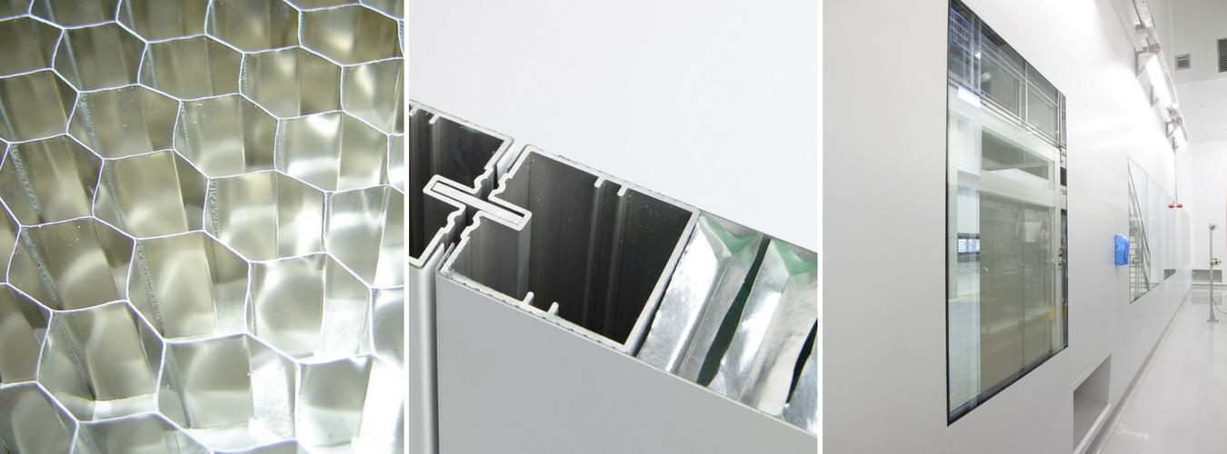 Aluminium Honeycomb Panels