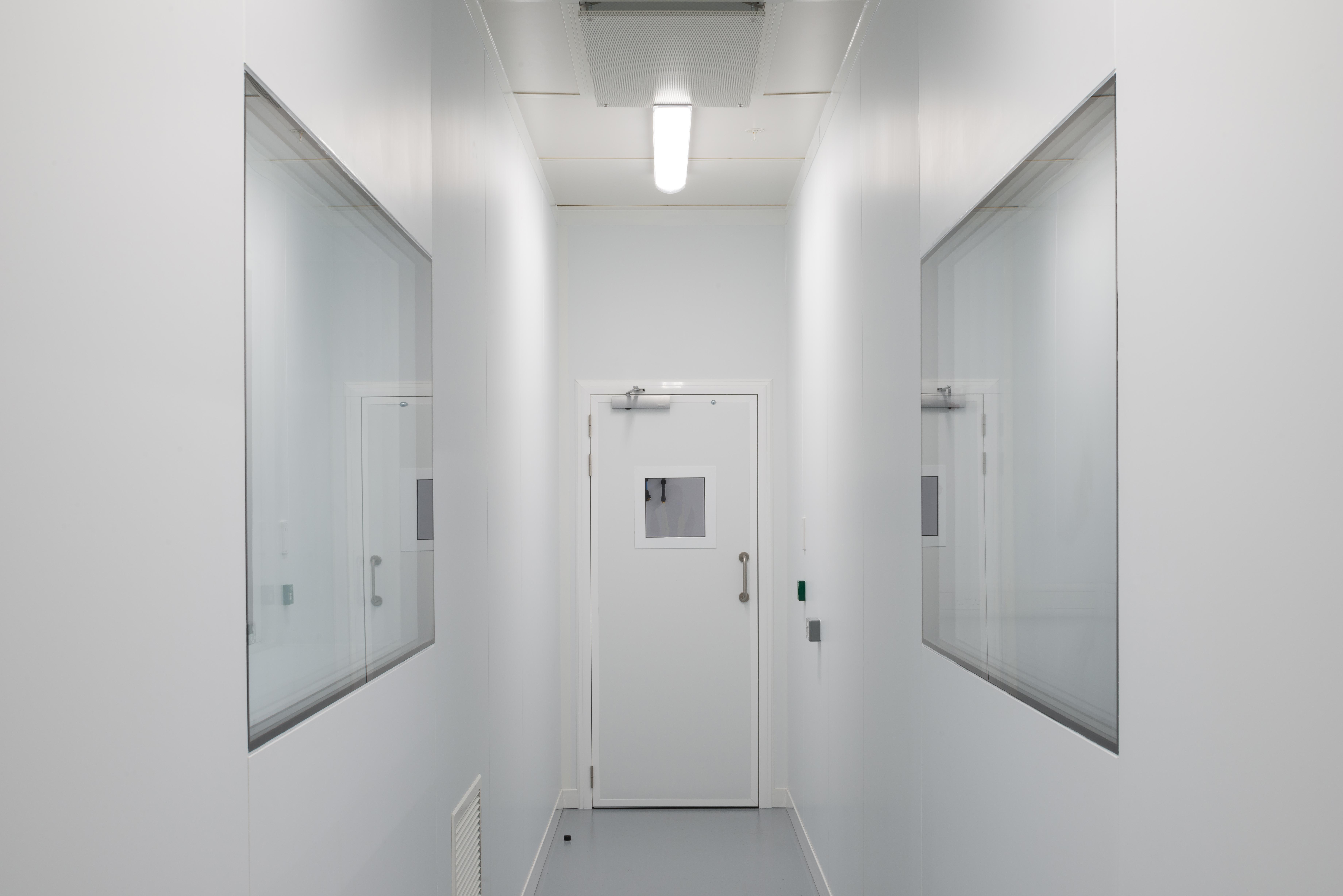 PVC Laminate Clean Room
